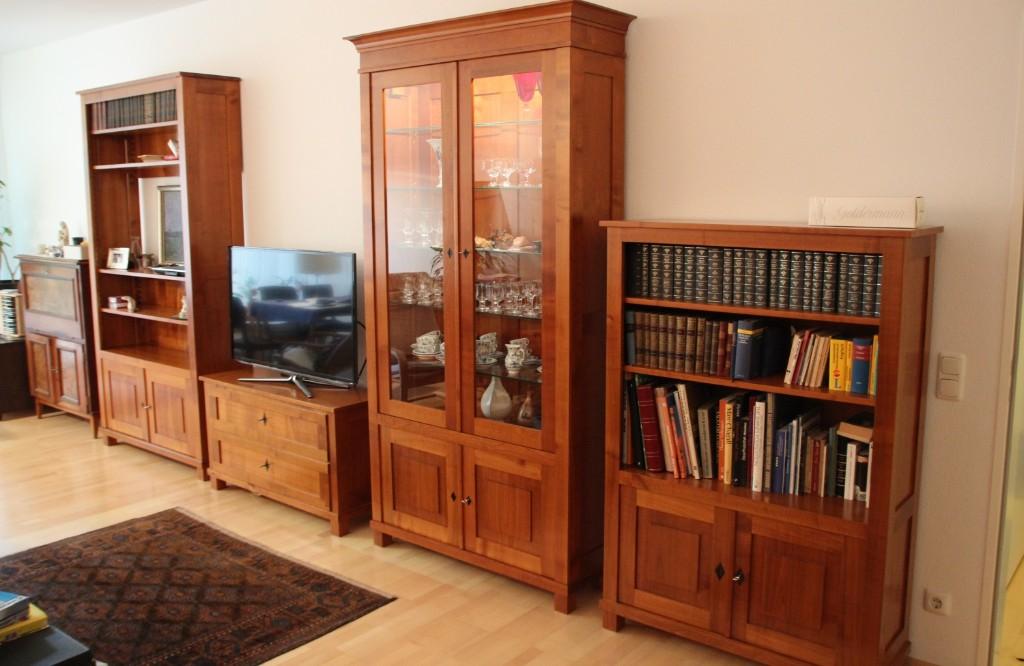 Bücherregal Kirsche stilmöbel reprodukte
